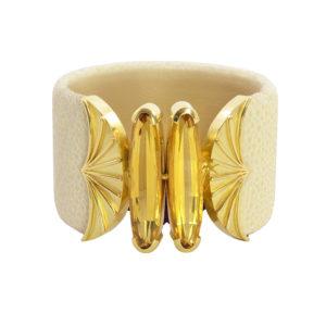 Silverhorn Heliodor Stingray Bracelet