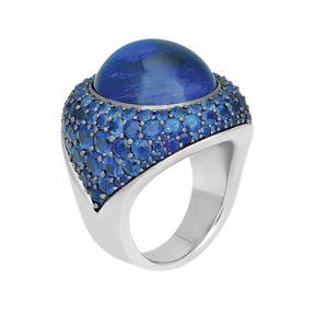 Silverhorn tanzanite ring