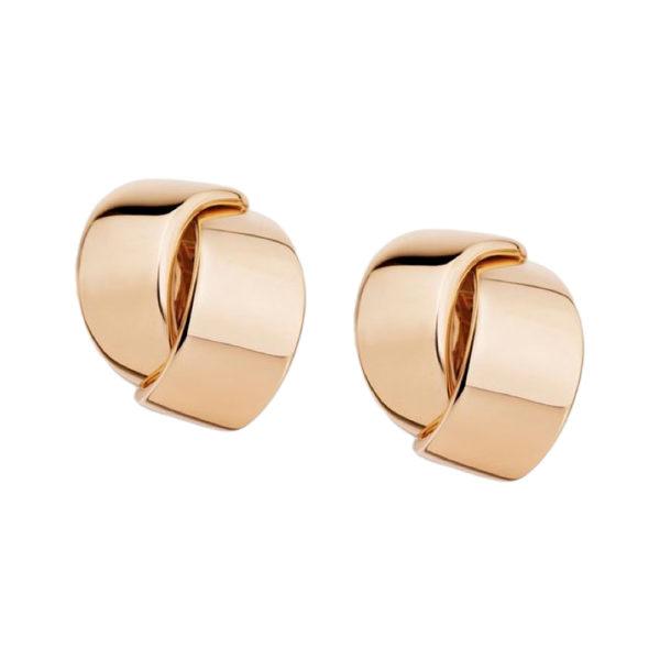 Silverhorn 18kt rose gold ear clips