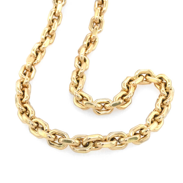 "Silverhorn 18kt yellow gold ""chunky"" chain"