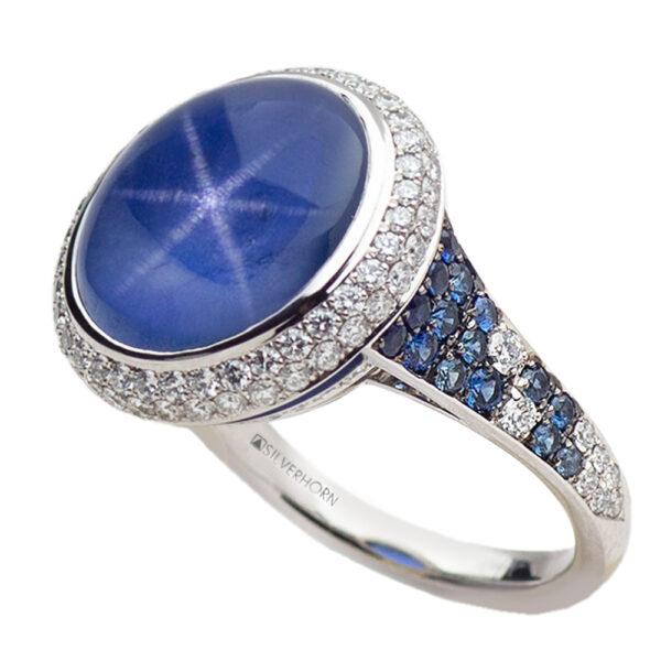 Silverhorn Jewelers star sapphire ring