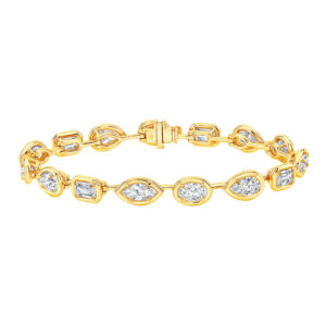 Silverhorn jewelers 18kt yellow gold diamond bracelet