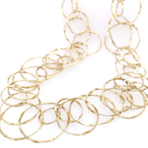 Silverhorn Jewelers HANDMADE 18KT YELLOW GOLD CHAIN